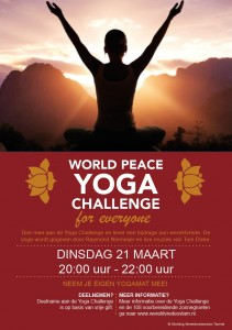 WORLD PEACE YOGA CHALLENGE POSTER